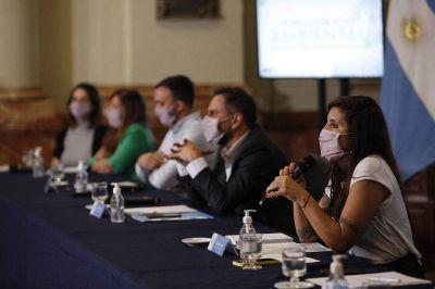 Con la presencia de Cabandié, se realizó el primer Foro Legislativo Ambiental