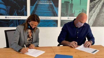 El Sindicato APDFA junto al Puerto Dock Sud firman un Protocolo para Casos de Violencia de Género