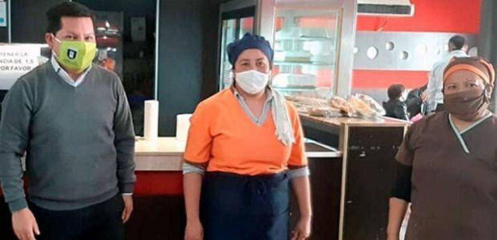 La recuperación de una empresa y la continuidad de sus trabajadores, un logro del Sindicato de Pasteleros de Salta