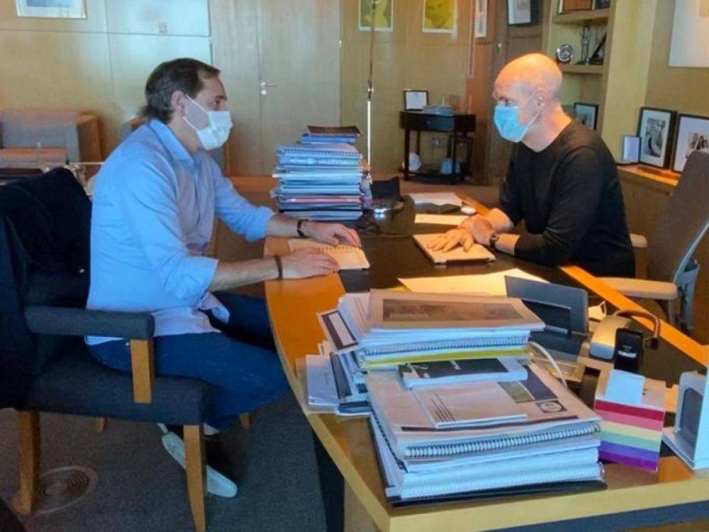 Garro se reunió con Larreta y marca postura frente a Kicillof
