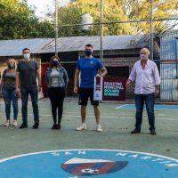 Recorrida en las obras de remodelación del Club San Martín de Escalada