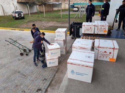 Córdoba recibió 54.000 dosis del primer componente de la vacuna Sputnik V