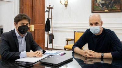 COVID: Kicillof y Larreta buscan reconstruir puentes para el manejo unificado de la pandemia