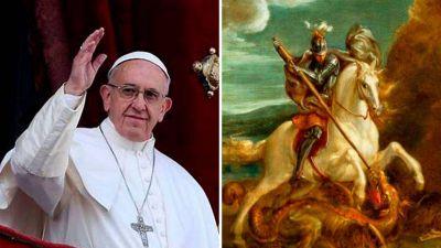 Hoy es la fiesta de San Jorge, el santo del Papa Francisco