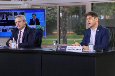 Ante explosión de casos, Fernández y Kicillof evaluaron un plan de contingencia