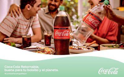 Coca-Cola impulsa el uso de envases retornables e invita a todos los mexicanos a trabajar #JuntosParaAlgoMejor