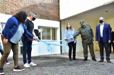 La Ministra de Seguridad de la Nación Sabina Frederic inauguró una sede de Gendarmería Nacional en Hurlingham