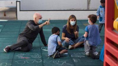 Continúa el paro docente a favor de la vida mientras Larreta y Acuña siguen en campaña