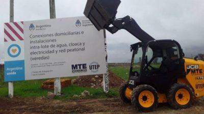 Firman convenios por obras con el MTE en Mar del Plata