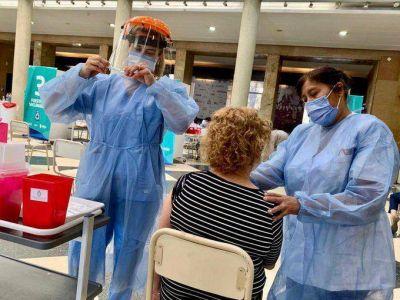 Este sábado se vacunaron 10.249 personas contra el Covid-19