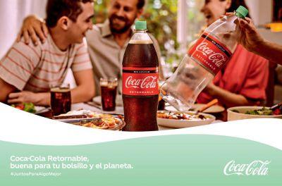 Coca-Cola apuesta por más retornables para un mundo mejor
