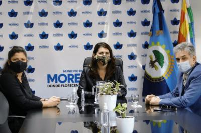 Moreno | Avanza la construcción de la Planta de Transferencia y llegan nuevos camiones al municipio