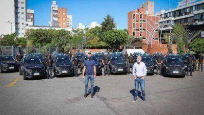 Lanús sumó otros 15 móviles que patrullarán las calles del distrito