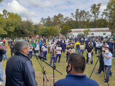 Ultimátum de Moyano a De Narváez: «Si en 48 horas la empresa no paga el dinero de los trabajadores, vamos a determinar un paro general»