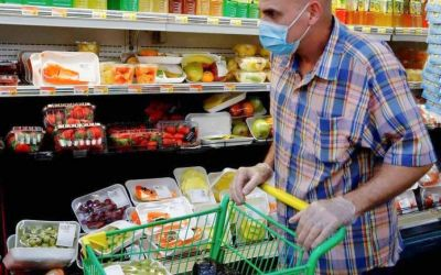 Tras dos meses de mejora, las ventas en supermercados cayeron 5,8% en febrero