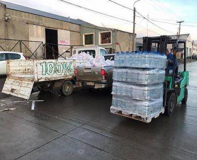 Asistencia para camioneros argentinos varados en Punta Delgada