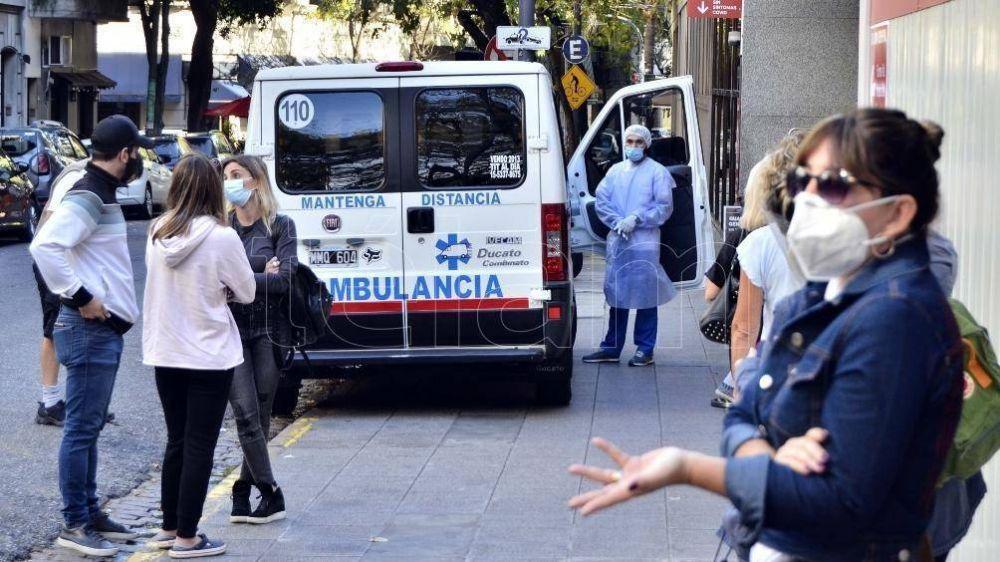 Murieron 443 personas y 18.793 fueron reportadas con coronavirus en las últimas 24 horas