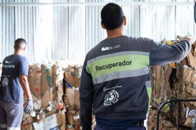BA recicla. Un plan que apunta a la separación de residuos y la gestión social