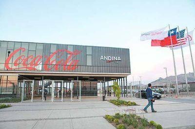 Ganancias de Embotelladora Andina caen 12% en primer trimestre, pero volúmenes de ventas aumentan