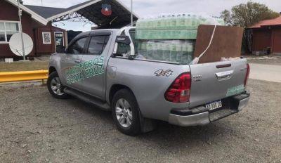 Chile no permitió el ingreso de alimentos y agua para los camioneros argentinos varados