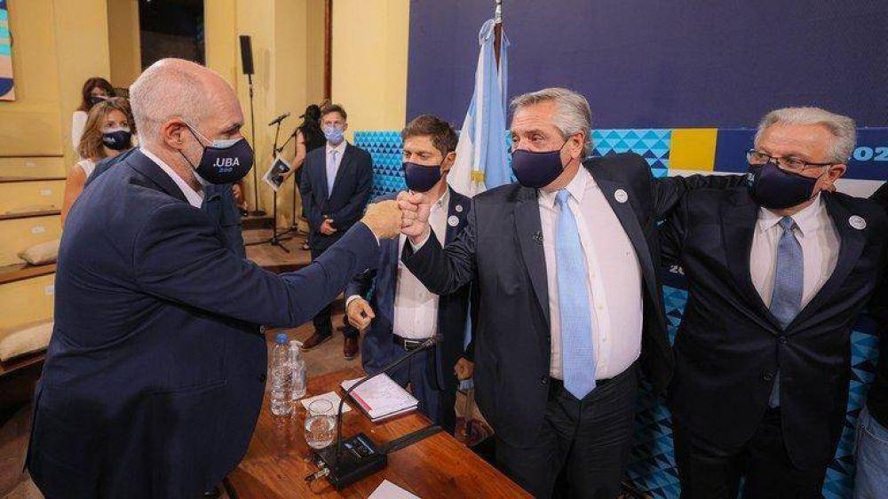 Segunda ola: el Gobierno envió señales de distensión y se abrió un canal de diálogo con Rodríguez Larreta para diseñar nuevas restricciones