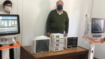 José Rodríguez Ponte agradeció a autoridades bonaerenses por el envió de material para jerarquizar el sistema sanitario