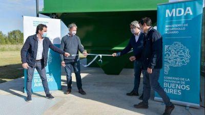 Maipú: inauguraron las obras de expansión de la red cloacal en Las Armas
