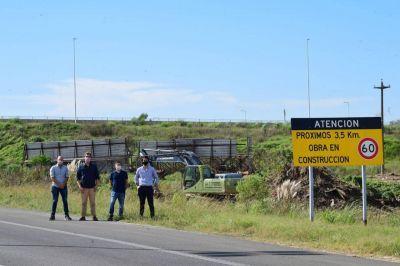 Pusieron en marcha las obras complementarias en Autopista 5