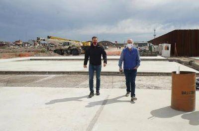 Grindetti recorrió el Parque Industrial