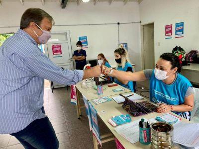 Más de 80 mil vecinos inmunizados