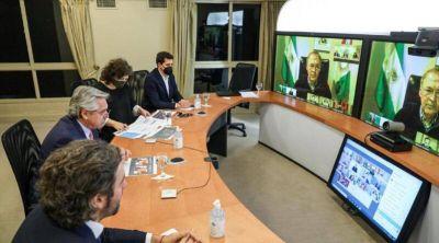 Segunda ola: Fernández se reúne hoy con Schiaretti y otros gobernadores