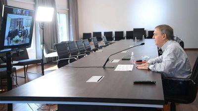 Schiaretti habilitó la ampliación de la planta de agua de Deheza