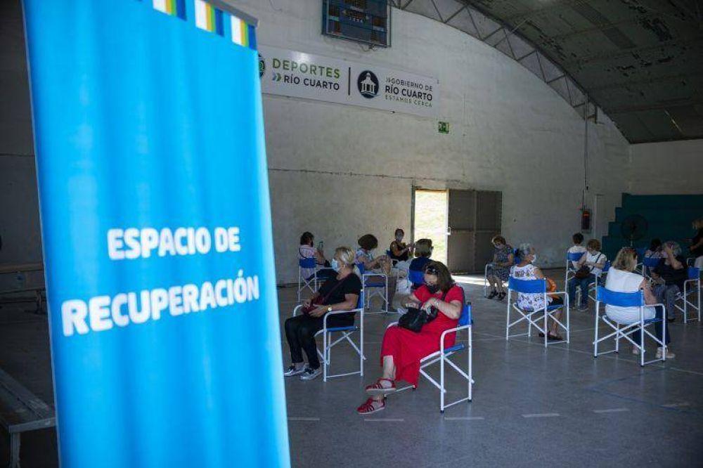 Río Cuarto llegó a las 30 mil personas vacunadas
