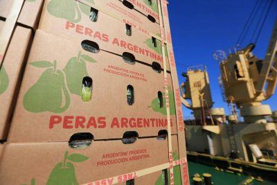 Las exportaciones frutícolas cayeron 15% en el inicio de la temporada