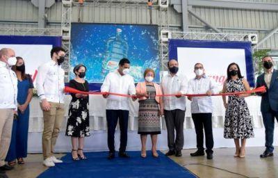 Agua Rangel inaugura nueva línea de producción en su sede de La Vega