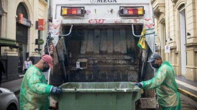Recolección de residuos para el fin de semana en Paraná