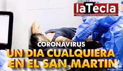 Un día cualquiera en el Hospital San Martín