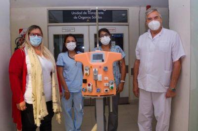 Por primera vez, un hospital público del país tiene un equipo de hemodiálisis para niños