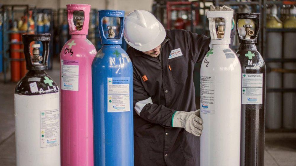El Gobierna congela el precio del oxígeno medicinal por