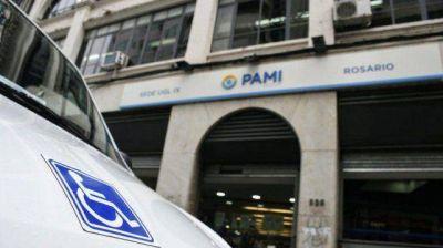 A las autoridades del Pami