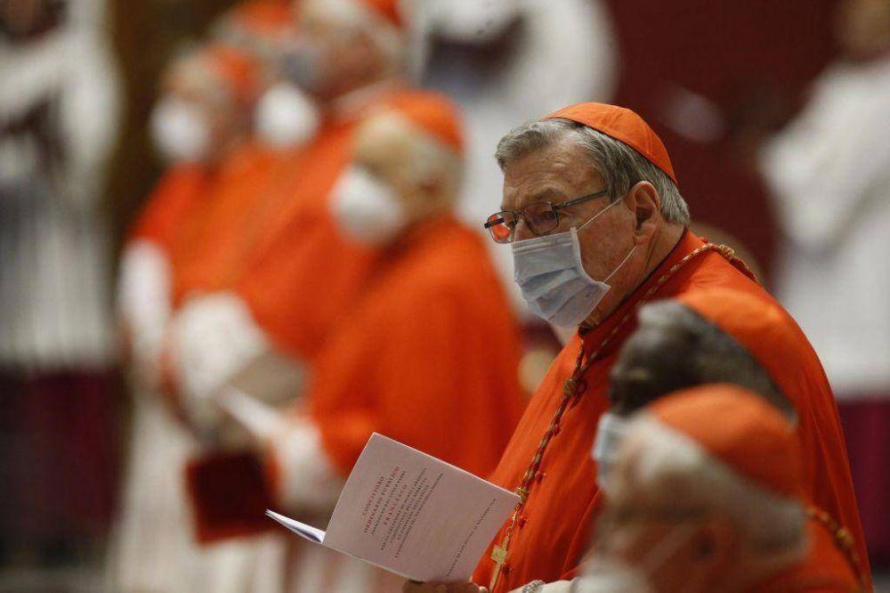 """Cardenal Pell: """"El deber de los obispos alemanes es defender la doctrina de las Escrituras"""""""