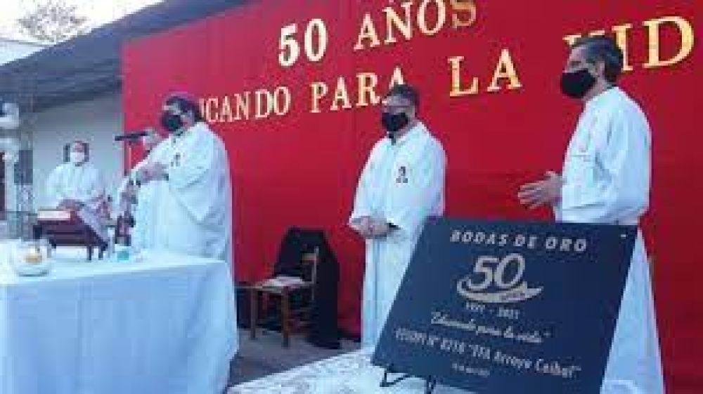 La EFA de Arroyo Ceibal celebró su 50° aniversario