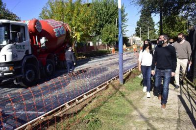 Avanza la obra de la calle Acevedo