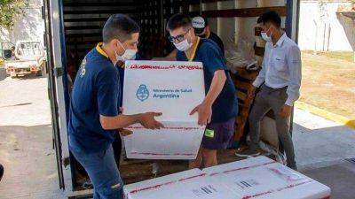 Córdoba recibió más de 61 mil nuevas dosis de vacunas