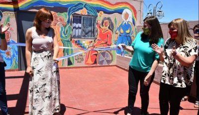 Inauguraron la Subsecretaría de Género, con la ministra de las Mujeres bonaerense