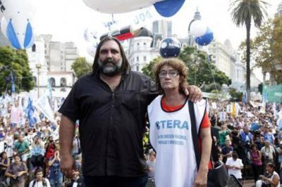 CTERA repudió los ataques políticos y mediáticos contra SUTEBA y se solidarizó con el gremio docente