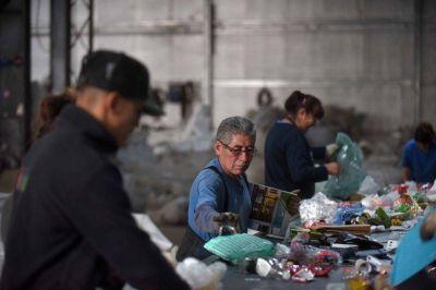Cooperativa de reciclado reclama políticas públicas para disminuir el deterioro ambiental