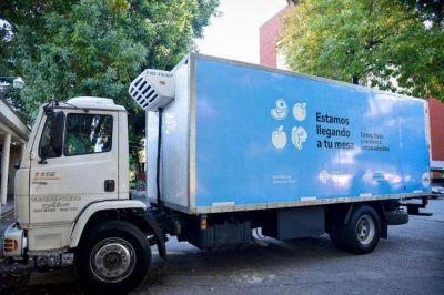 Precios de alimentos: lanzaron el Mercado Federal Ambulante