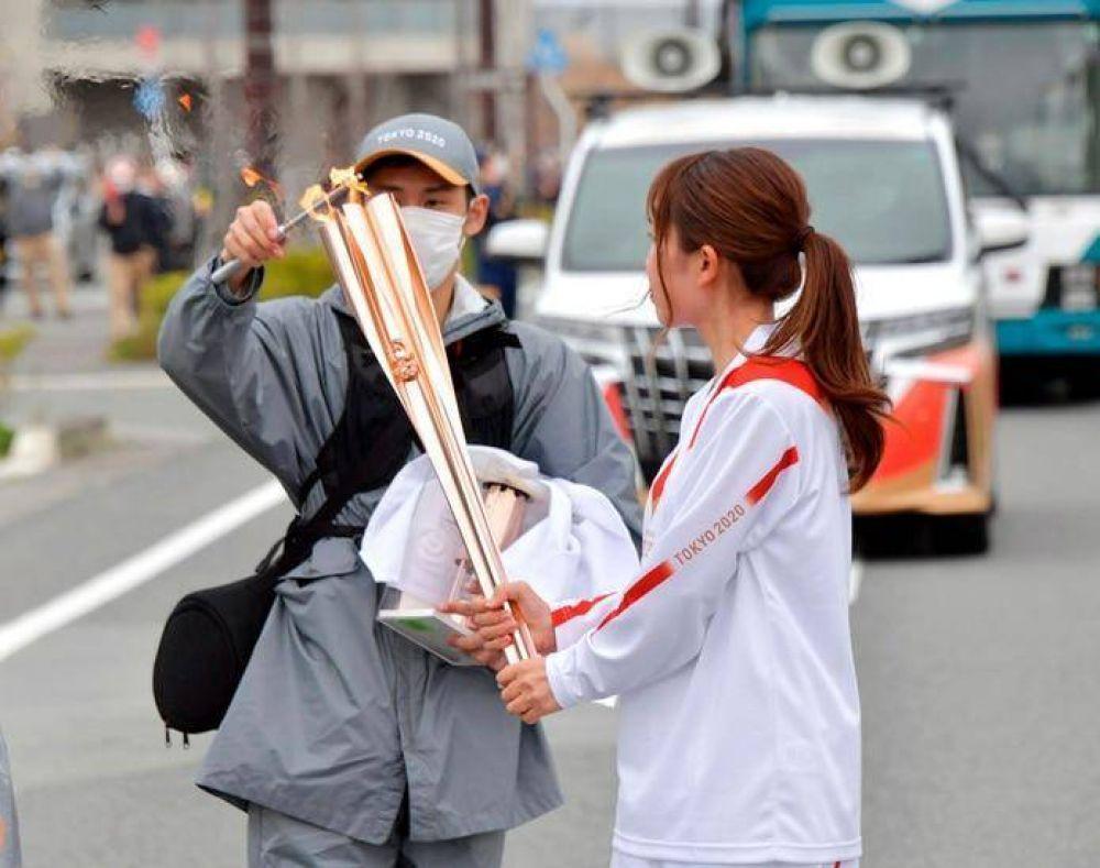 Tokio 2020: relevo de antorcha olímpica sufre nuevo desvío