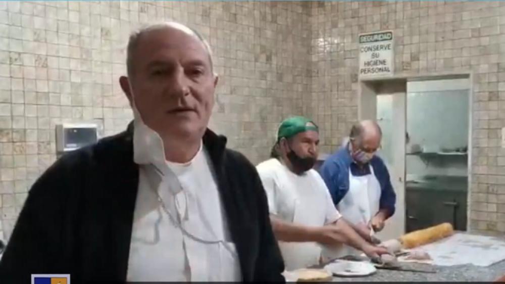 Monseñor Lugones, a los empresarios: